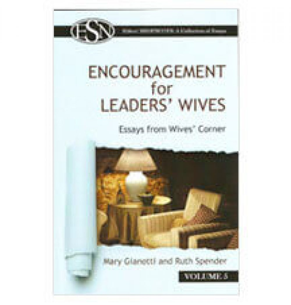elders shopnotes volume 5 encouragement for wives
