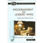 Elders' ShopNotes Volume 5: Encouragement for Leaders' Wives by Mary Gianotti & Ruth Spender